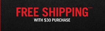 FREE SHIPPING*** WITH $40 PURCHASE