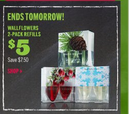 $5 Wallflowers 2-Pack Refills