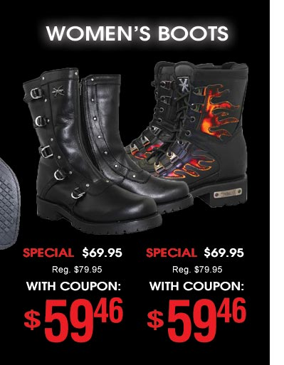 Women's Boots - $59