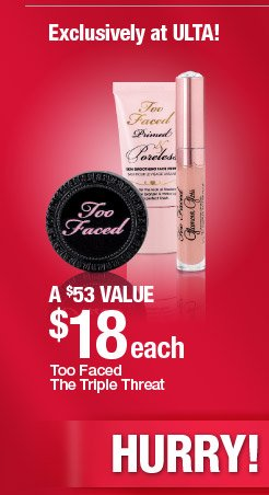 Too Faced The Triple Threat