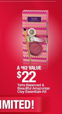 Tarte Balanced and Beautiful Amazonian Clay Essentials Kit