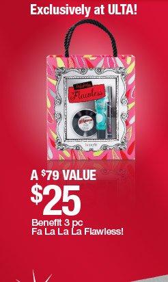Benefit 3 pc Fa La La La Flawless!