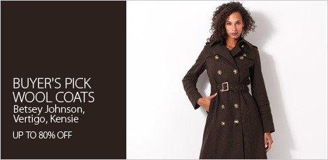 Buyer's pick: Wool coats