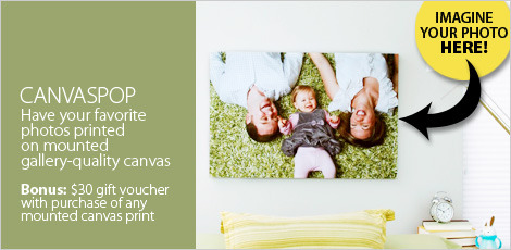 CanvasPop: Personalized Photo Canvases