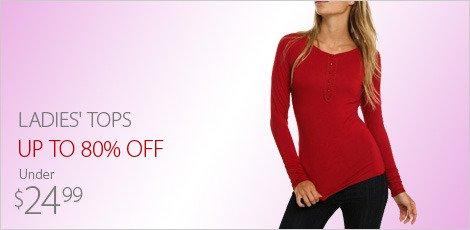 Ladies' Tops & Sweaters