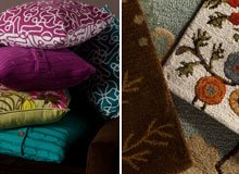 Rizzy Home Rugs & Pillows