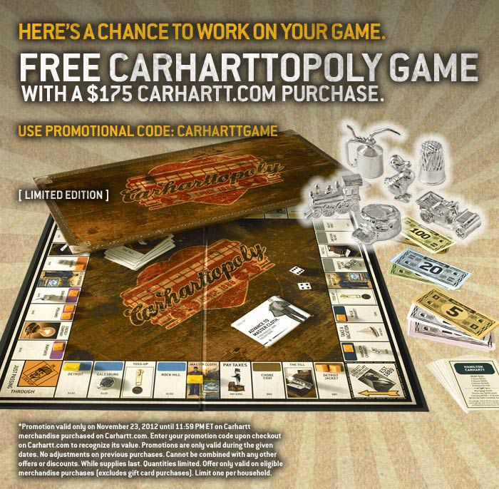 Carharttopoly