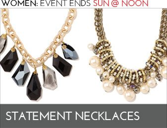 STATEMENT NECKLACES  - JEWELRY EVENT