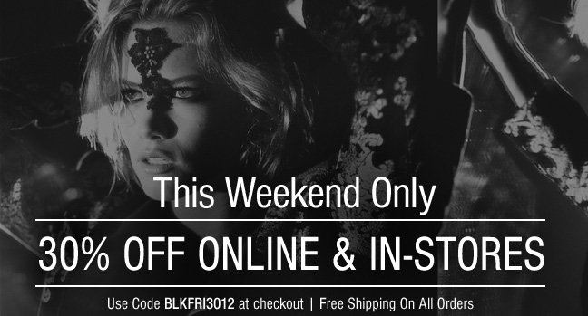 Avoid The Lines, 30% Off Sitewide!