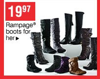 19.97 Selected Rampage® boots for her