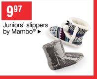 9.97 Juniors' slippers by Mambo®