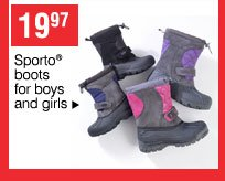 19.97 Sporto® boots for boys and girls