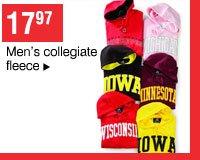 17.97 Men's collegiate fleece