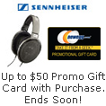 Sennheiser - Up to $50 Promo Gift Card with Purchase. Ends soon!