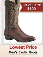 Men's Exoctic Boots
