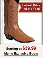 Men's Exclusive Boots