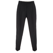 Paul Smith Trousers - Black Pleated Front Trousers