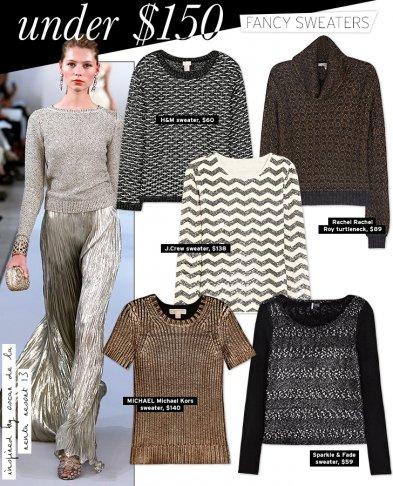 Under $150: Fancy Sweaters
