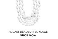 Rulasi beaded necklace