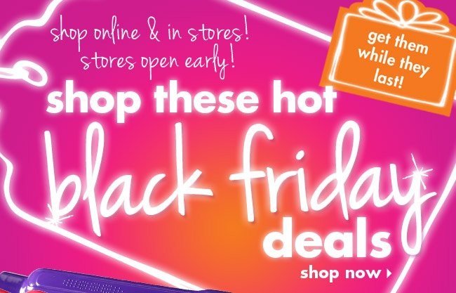shop these hot black friday deals!