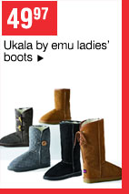 49.97 Ukala by emu ladies' boots