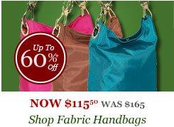 Shop Fabric Handbags
