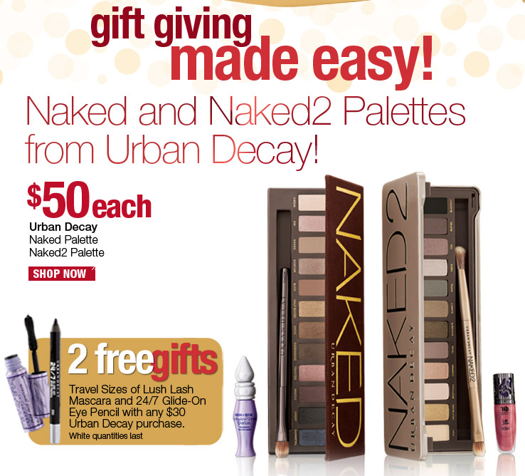 Urban Decay Naked Palettes