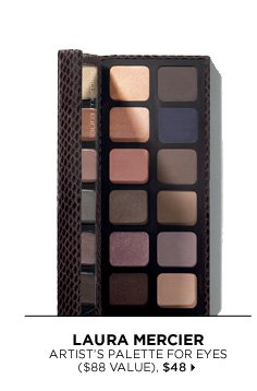 new . exclusive . limited edition. Laura Mercier Artist's Palette For Eyes ($88 Value), $48