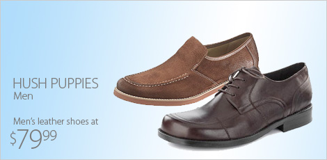Hush Puppies for men & more