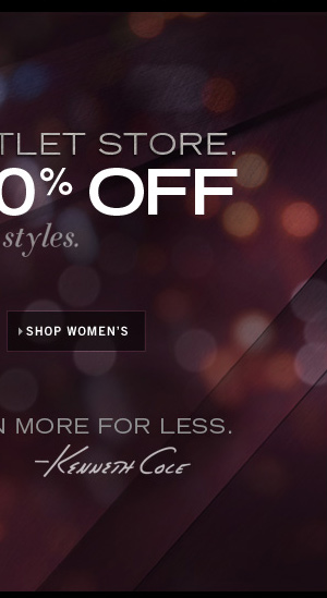 GET 50% OFF SELECT STYLES / SHOP WOMEN'S