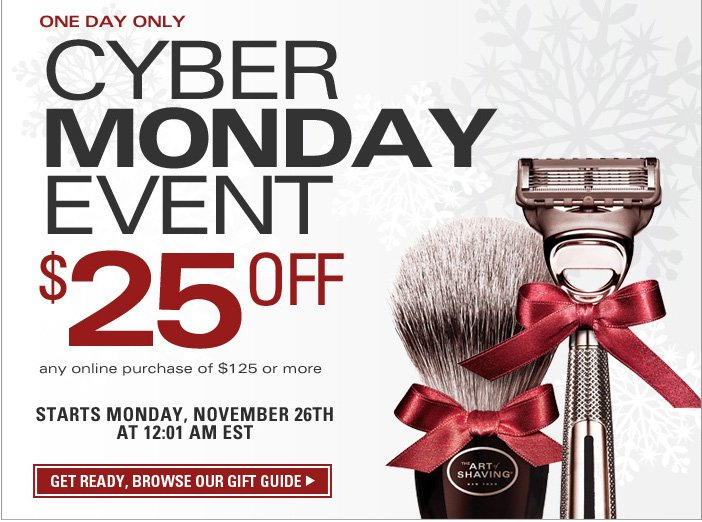 Cyber Monday Event - Get Ready, Browse Our Gift Guide