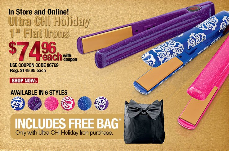 Ultra CHI Holiday Flat Irons