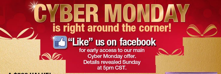 Cyber Monday is right around the corner!