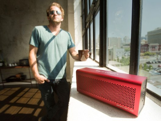 Kick off your shoes at home and crank up great sound to play music literally anywhere you want.