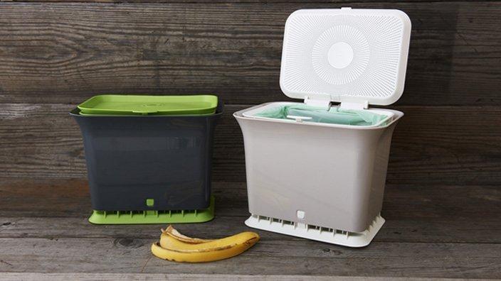Fresh Air Kitchen Compost Collector from Brendan Brazier