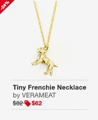 Tiny Frenchie Necklace Image