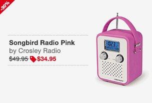 Songbird Radio Pink Image