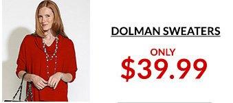 Shop Dolman Sweaters