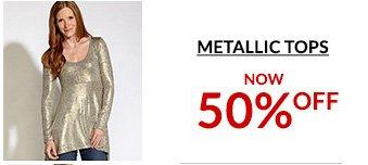Shop Metallic Tops