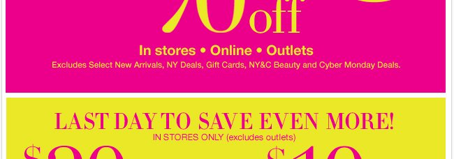 Last Day to Save Even More with these In Store coupons