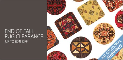 End Of Fall Rug Clearance