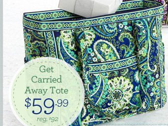 Get Carried Away Tote - $59.99