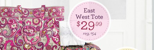 East West Tote - $29.99