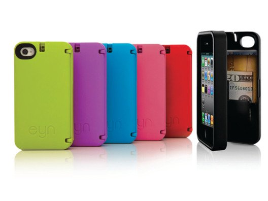 This case has a mirror in the back (yes, a mirror!) and a compartment to hold your ID, credit cards, and money.