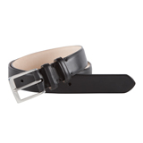 Paul Smith Belts - Black Classic Suit Belt