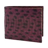 Paul Smith Wallets - Damson Snakeskin Billfold Wallet