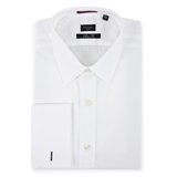 Paul Smith Shirts - White Double Cuff Shirt