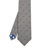 Paul Smith Ties - Classic Sky Blue Houndstooth Pattern Tie