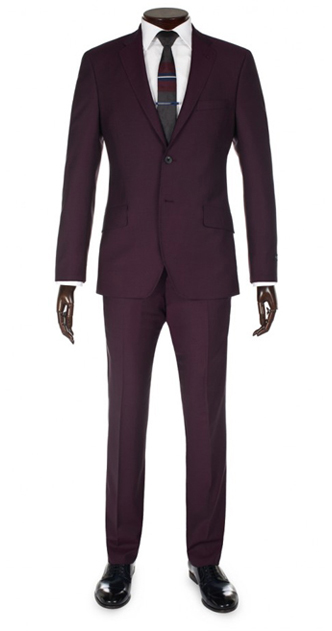 Paul Smith Suits - Damson Abbey Suit