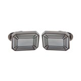 Paul Smith Cufflinks - Mother of Pearl Facet Cufflinks